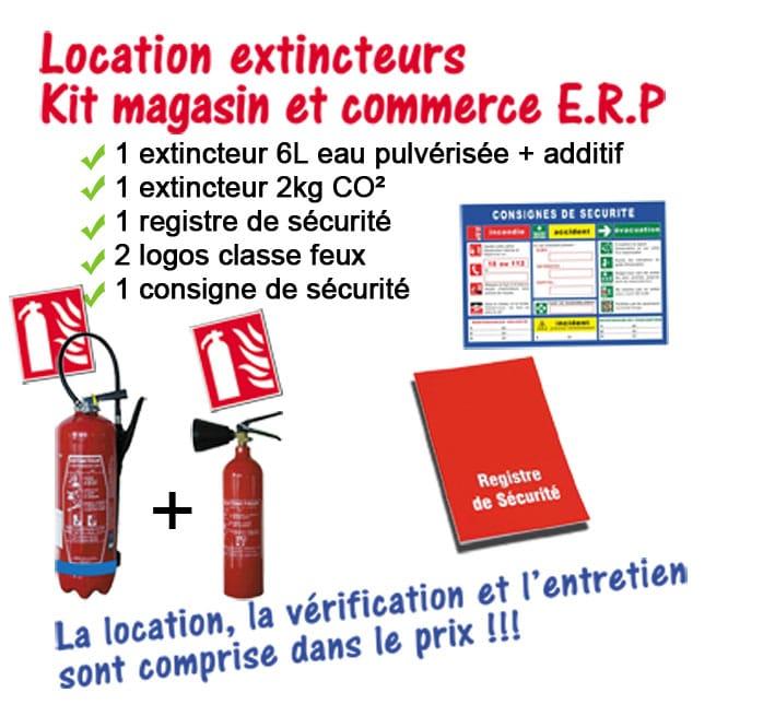 Kit ERP Nièvre Protection Incendie
