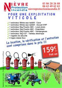 Kit viticulteur Nièvre Protection Incendie