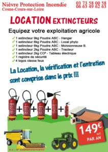 Kit agriculteur Nièvre Protection Incendie